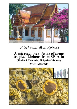A microscopical Atlas of some tropical Lichens from SE-Asia (Thailand, Cambodia, Philippines, Vietnam) – Volume 1 von Aptroot,  Andre, Schumm,  Felix