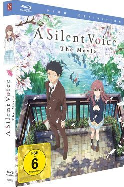 A Silent Voice – Blu-ray Deluxe Edition von Yamada,  Naoko