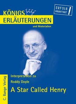 A Star Called Henry (in deutscher Sprache) von Roddy Doyle. von Doyle,  Roddy, Schede,  Hans-Georg