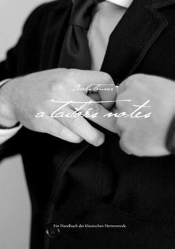 A Tailor's Notes von Tonner,  Charles