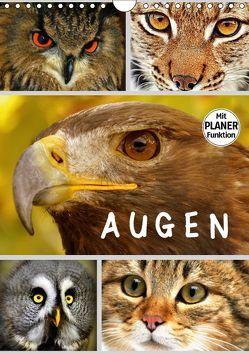 A U G E N (Wandkalender 2018 DIN A4 hoch) von GUGIGEI,  k.A.