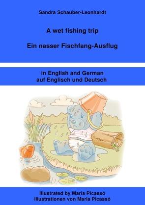 A wet fishing trip / Ein nasser Fischfang-Ausflug von Schauber-Leonhardt,  Sandra
