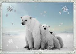 A3-Wandkalender – Eisbärenzeit