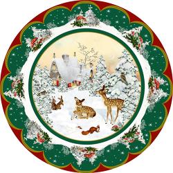 A3-Wandkalender – Nostalgischer Weihnachtsteller von Behr,  Barbara