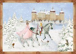 A3-Wandkalender – Weihnachten mit Aschenbrödel von Behr,  Barbara