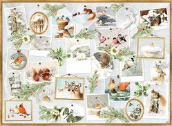 A4-Wandkalender – Marjoleins Wintergalerie von Bastin,  Marjolein