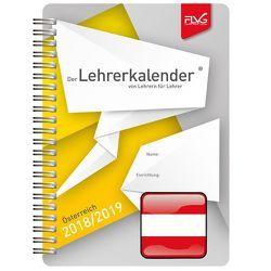 A5 Lehrerkalender 2018/2019 – Ausgabe Österreich von Lückert,  Wolfgang