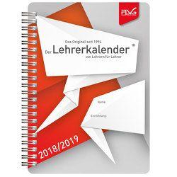 A5 Lehrerkalender von Lehrern für Lehrer 2018/2019 von Lückert,  Wolfgang