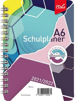 A6 Gymnasial-, Schul- und Studienplaner 2021/2022 von Lückert,  Wolfgang
