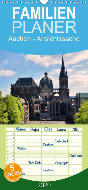 Aachen – Ansichtssache – Familienplaner hoch (Wandkalender 2020 , 21 cm x 45 cm, hoch) von Bartruff,  Thomas
