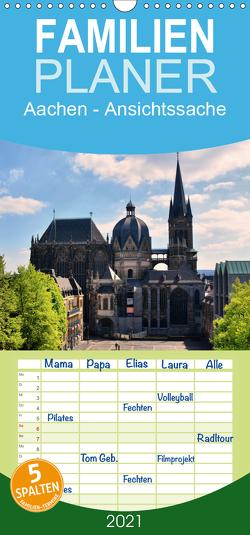 Aachen – Ansichtssache – Familienplaner hoch (Wandkalender 2021 , 21 cm x 45 cm, hoch) von Bartruff,  Thomas