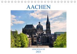 Aachen – Ansichtssache (Tischkalender 2021 DIN A5 quer) von Bartruff,  Thomas