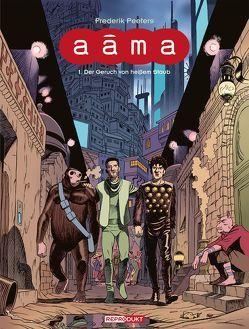 Aâma 1 – Der Geruch von heißem Staub von Herbert,  Marion, Peeters,  Frederik