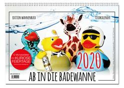 Ab in die Badewanne! Tischkalender 2020