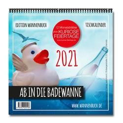 Ab in die Badewanne! Tischkalender 2021