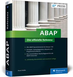 ABAP – Die offizielle Referenz von Keller,  Horst