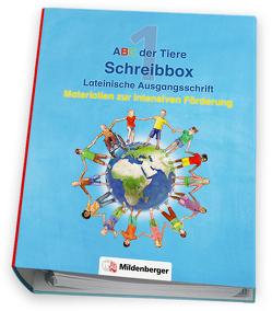 ABC der Tiere 1 – Schreibbox, Lateinische Ausgangsschrift von Kresse,  Tina, Treiber,  Heike