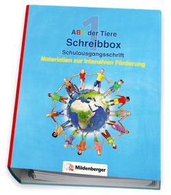 ABC der Tiere – Schreibbox, Schulausgangsschrift von Kresse,  Tina, Treiber,  Heike