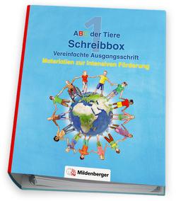 ABC der Tiere – Schreibbox, Vereinfachte Ausgangsschrift von Kresse,  Tina, Treiber,  Heike