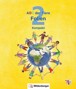 ABC der Tiere 2 – Folien Lesebuch und Spracharbeitsheft Kompakt von Kuhn,  Klaus, Mrowka-Nienstedt,  Kerstin