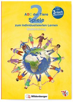 ABC der Tiere 2 – Spiele zum individualisierten Lernen · Basistraining von Schobert,  Alexandra
