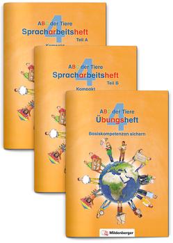 ABC der Tiere 4 – Spracharbeitsheft Kompakt von Kuhn,  Klaus, Mrowka-Nienstedt,  Kerstin