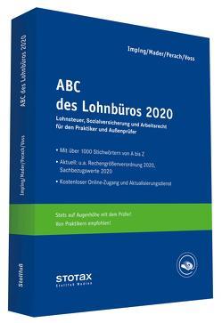 ABC des Lohnbüros 2020 von Imping,  Andreas, Mader,  Klaus, Perach,  Detlef, Voß,  Rainer