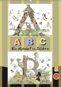 ABC. Ein Alphabet in Bildern. (Wandkalender 2019 DIN A2 hoch) von Yerokhina,  Kateryna