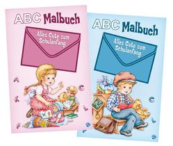 "ABC-Malbuch ""Zum Schulanfang"""