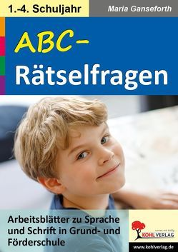 ABC-Rätselfragen von Ganseforth,  Maria