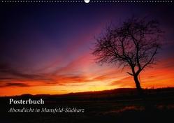 Abendlicht in Mansfeld-Südharz (PosterbuchDIN A2 quer) von Gierok,  Steffen