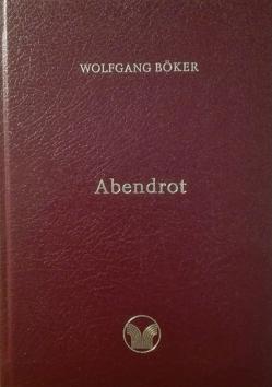 Abendrot von Böker,  Wolfgang