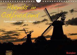 Abends in Ostfriesland (Wandkalender 2019 DIN A4 quer) von Wenk,  Marcel