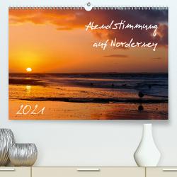 Abendstimmung auf Norderney (Premium, hochwertiger DIN A2 Wandkalender 2021, Kunstdruck in Hochglanz) von Bergenthal,  Jürgen