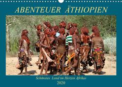 Abenteuer Äthiopien (Wandkalender 2020 DIN A3 quer) von Brack,  Roland