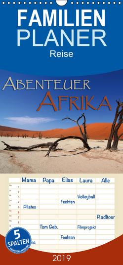 Abenteuer Afrika – Familienplaner hoch (Wandkalender 2019 , 21 cm x 45 cm, hoch) von Pohl,  Gerald