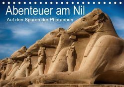 Abenteuer am Nil. Auf den Spuren der Pharaonen (Tischkalender 2019 DIN A5 quer) von Wenske,  Steffen