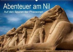 Abenteuer am Nil. Auf den Spuren der Pharaonen (Wandkalender 2019 DIN A2 quer) von Wenske,  Steffen
