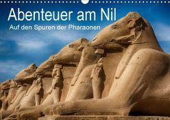 Abenteuer am Nil. Auf den Spuren der Pharaonen (Wandkalender 2019 DIN A3 quer) von Wenske,  Steffen