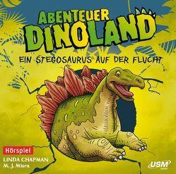 Abenteuer Dinoland (Folge 4): Ein Stegosaurus auf der Flucht von Chapman,  Linda, Misra,  M. J.