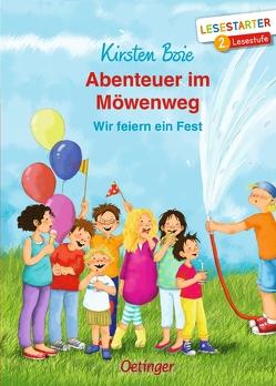 Abenteuer im Möwenweg von Boie,  Kirsten, Jessler,  Nadine