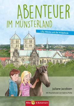 Abenteuer im Münsterland von Jacobsen,  Juliane, Pohle,  Sabrina