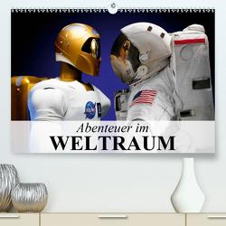 Abenteuer im Weltraum (Premium, hochwertiger DIN A2 Wandkalender 2020, Kunstdruck in Hochglanz) von Stanzer,  Elisabeth
