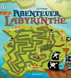 Abenteuer-Labyrinthe. Bunt und spannend. von Trinidad,  Leo