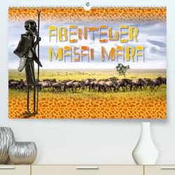 Abenteuer Masai Mara (Premium, hochwertiger DIN A2 Wandkalender 2020, Kunstdruck in Hochglanz) von Gödecke,  Dieter