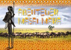 Abenteuer Masai Mara (Tischkalender 2019 DIN A5 quer) von Gödecke,  Dieter