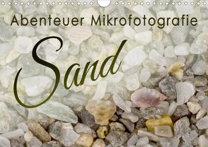 Abenteuer Mikrofotografie Sand (Wandkalender 2021 DIN A4 quer) von Becker,  Silvia
