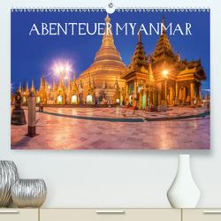 Abenteuer Myanmar (Premium, hochwertiger DIN A2 Wandkalender 2021, Kunstdruck in Hochglanz) von Claude Castor I 030mm-photography,  Jean