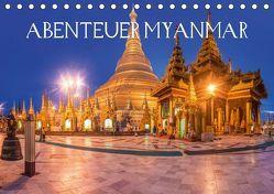 Abenteuer Myanmar (Tischkalender 2019 DIN A5 quer) von Claude Castor I 030mm-photography,  Jean