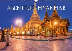 Abenteuer Myanmar (Wandkalender 2019 DIN A3 quer) von Claude Castor I 030mm-photography,  Jean